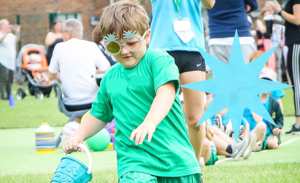 H at Sports Day