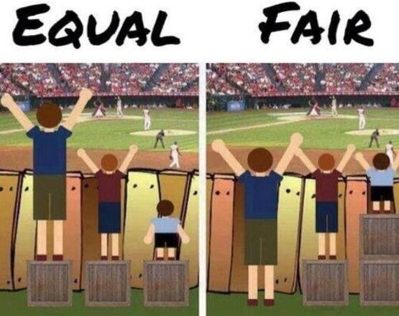 Equal or Fair
