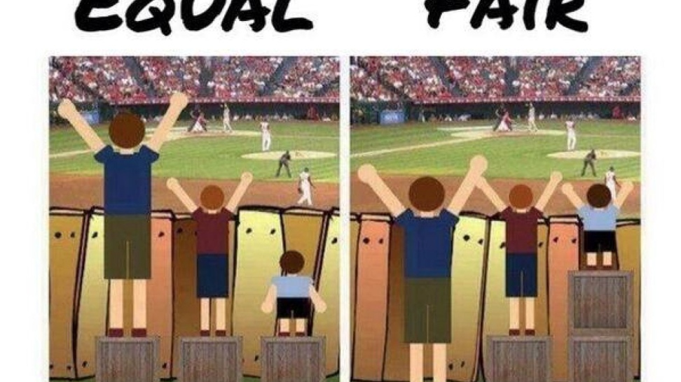 Equal or Fair